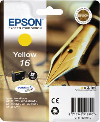 Epson Tintenpatrone T16244010 gelb