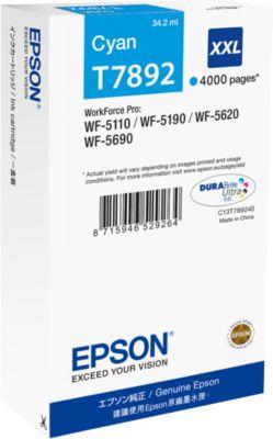 Epson Tintenpatrone T789240XXL cyan