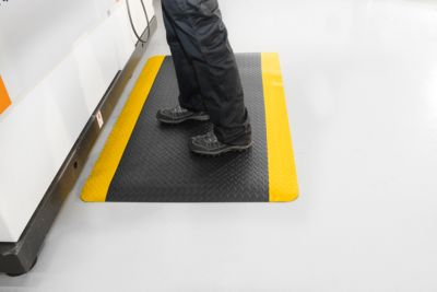 Ergonomiemat Deckplate, Safety, 600 x 900 mm