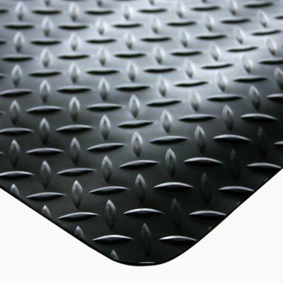 Ergonomiemat Deckplate, zwart, 600x900mm