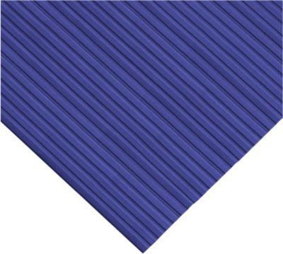 Ergonomischer Läufer, 10 m Rolle, 1000 mm breit, blau