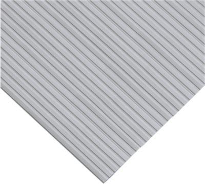Ergonomischer Läufer, 10 m Rolle, 800 mm breit, grau