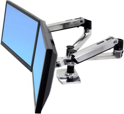 Ergotron LX-Arm dual voor tafelmontage