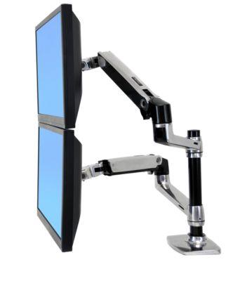 Ergotron LX dubbele schermoplossing voor de LX-machine