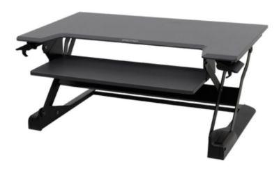 Ergotron werkplek WorkFit-TL, in hoogte verstelbaar, b 950 x d 640 mm, zwart
