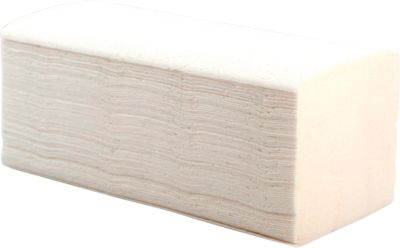 Essuie-mains, 2-épaisseurs, blanc, 3200 feuillets