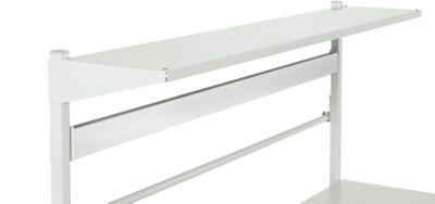 Etagenbord Serie TPB, Breite 1800 mm, aus Stahl, f. Packtische Serie TPB