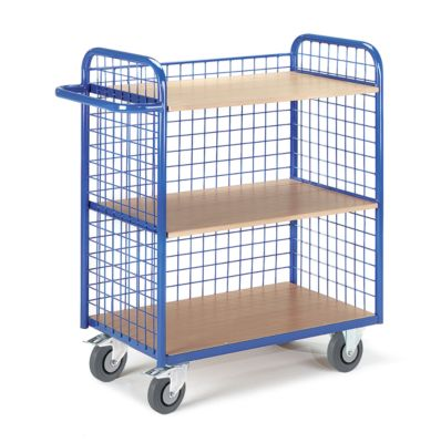 Etagenwagen, m. Gitterwänden, 3-seitig, 40 kg