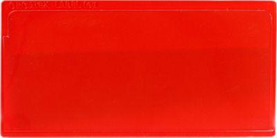 Etikethoesjes  Label PLUS, zelfklevend, 80x160, rood