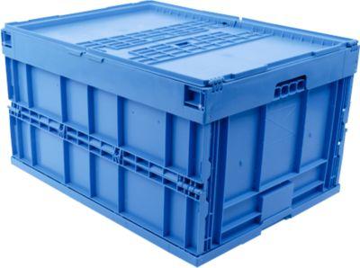 EURO-afmetingen vouwbox 8645 DS, blauw