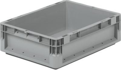 Euro Box Leichtbehälter ELB 4120, aus PP, Inhalt 10,9 L, ohne Deckel, grau