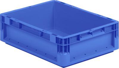 Euro Box Leichtbehälter ELB 4220, aus PP, Inhalt 20,4 L, ohne Deckel, blau