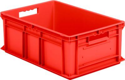 Euro-Fix-bakken EF 6220, zonder deksel, 43,5 l, rood