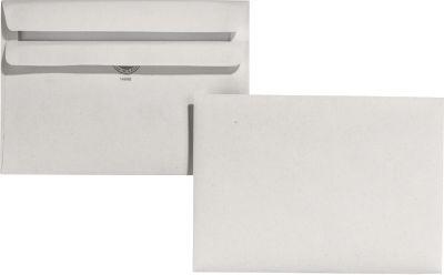 EuroKuvert gerecycleerde enveloppen C6, 114 x 162 mm, zonder venster, pak van 1000 stuks