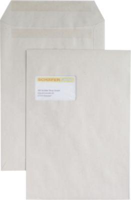 EuroKuvert gereycleere enveloppen C4, 229 x 324 mm, met venster, doos van 250 stuks