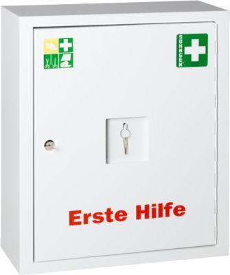 Eurosafe Industrie Norm, mit Inhalt nach DIN 13 169, weiß