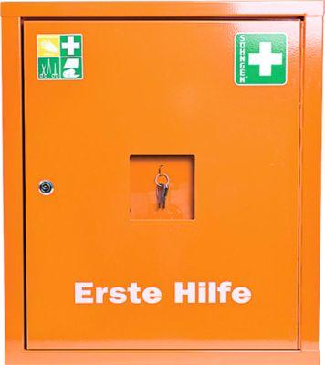 Eurosafe Industrie Norm Plus, mit Inhalt nach DIN 13 169 und Erweiterungset, orange