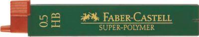 Faber-Castell Potloodstiften HB, 0,5 mm, 12 stuks