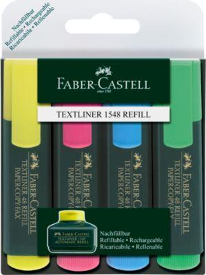 FABER-CASTELL tekstmarkers, set van 4