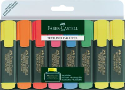 FABER-CASTELL tekstmarkers, set van 8