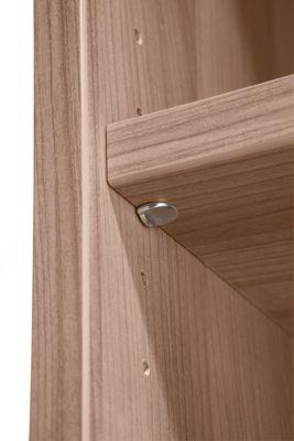 Fachboden für 400er Breite, B 350 x T 350 mm, Nussbaum-Dekor