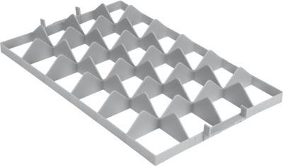 Fachwerkeinsatz FW 1192-2 oben, PE-HD, grau