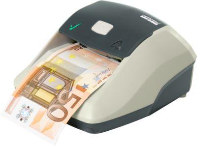 Factuur validatie ratiotec® Soldi Smart, ECB-standaard, EUR/CHF/GBP, net- of batterijvoeding, wit