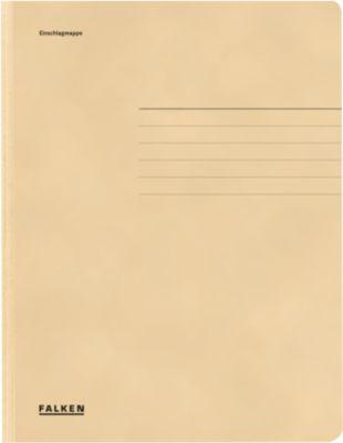 FALKEN documentenmap met 3 kleppen, van karton, gems