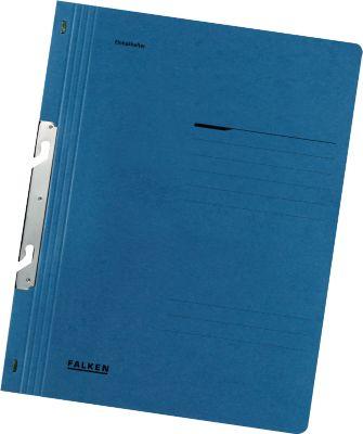 FALKEN Einhakhefter, DIN A4, ganzer Deckel, 1 Stück, blau