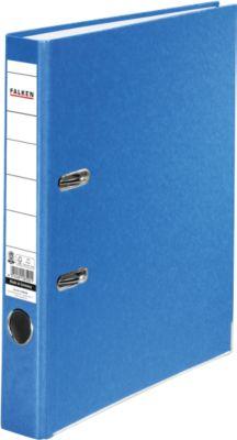 FALKEN Recycolor kartonnen ordner, A4, 50 mm, blauw, 1 stuk