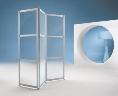 Falt-Stellwand, ESG Klarglas