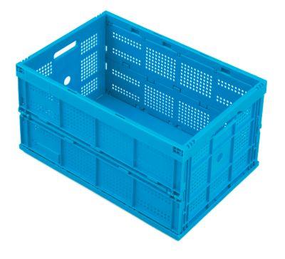 Faltbox im EURO-Maß FK 643-61, ohne Deckel, 60 l, blau
