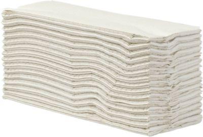 Falthandtücher, 2-lagig, C-Falz, naturweiß, 2400 Blatt