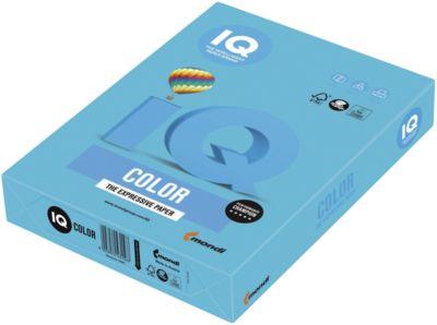 Farbiges Kopierpapier Mondi IQ Color Intensivfarbe, DIN A3, 80 g/m², wasserblau, 1 Paket = 500 Blatt