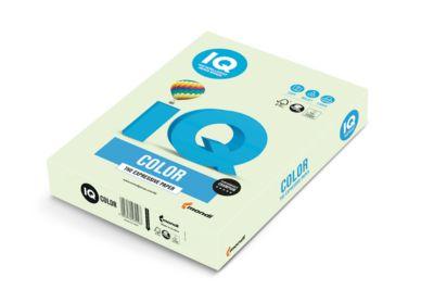 Farbiges Kopierpapier Mondi IQ Color Pastellfarbe, DIN A4, 160 g/m², hellgrün, 1 Paket = 250 Blatt