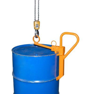 Fassklemme FKL, für 200 Liter Spundfässer, orange (RAL 2000)