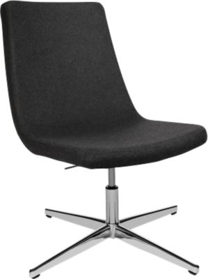 Fauteuil Sitness Lounge 20, draaibaar, 3D-Sitness-scharnier, draagvermogen tot 110 kg, zonder armleuning, antraciet