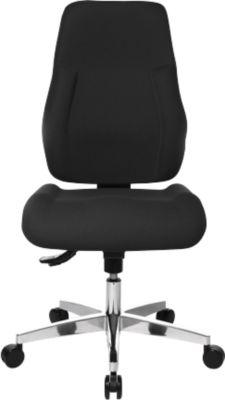 FEEL GOOD bureaustoel, zonder armleuningen, zwart