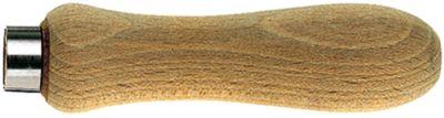 Feilenhefte aus Hartholz Länge 100 mm