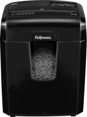 Fellowes Aktenvernichter 8MC, 3 x 10 mm Mikropartikel, für gelegentliche Nutzung