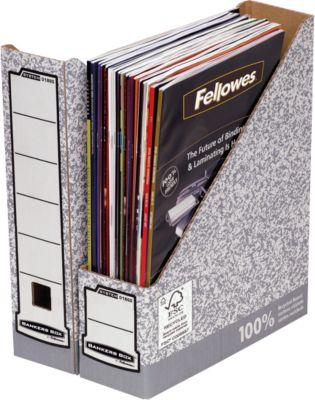 Fellowes Archiv-Stehsammler Bankers Box®, Rückenbreite 78 mm, DIN A4, 10 St.