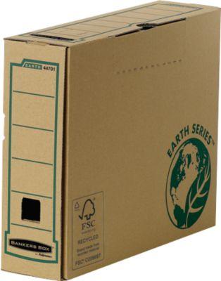 Fellowes® Bankers Box® Earth, archiefdozen, A4 formaat, rug van 80 mm, 20 stuks