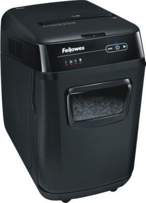Fellowes® destructeur de documents AutoMax 200C, coupe croisée, P-4