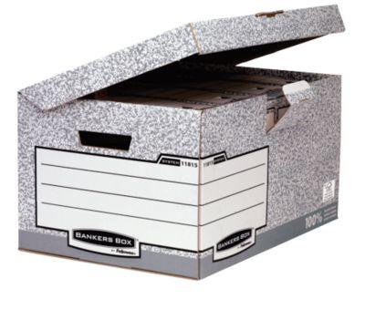 Fellowes Klappdeckelbox Bankers Box® Maxi, belastbar 12 kg, 10 St.