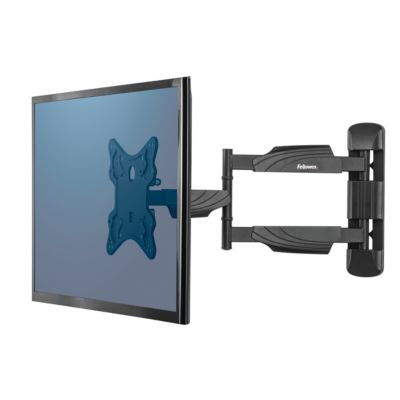 Fellowes LCD/LED/TV-Wandhalterung Full Motion, max. 35 kg, flexible Positionierung