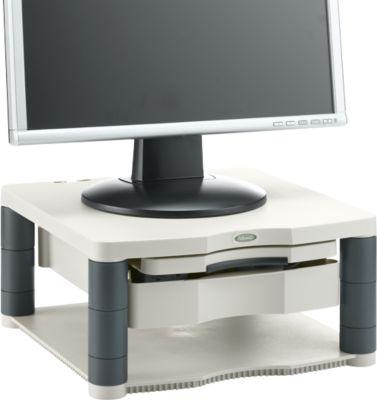 Fellowes Premium Monitor-Ständer Plus, höhenverstellbar, grau/anthrazit