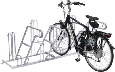 Fietsaanleunbeugel 4602 XBF, voor 2 fietsen, enkelzijdig