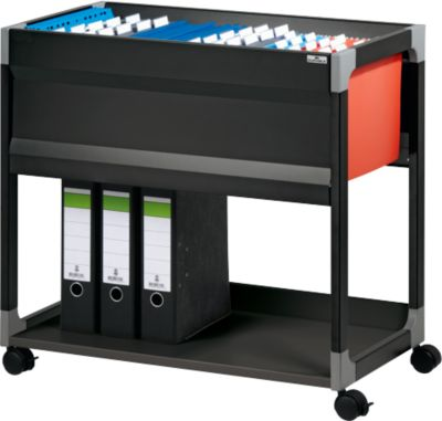File Trolley 80 A4, zwart