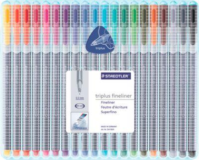 Fineliner STAEDTLER Triplus 334, 20er-Mix