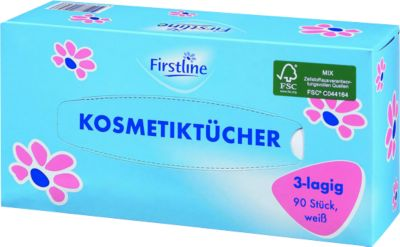 Firstline Kosmetiktücher, 90 St.